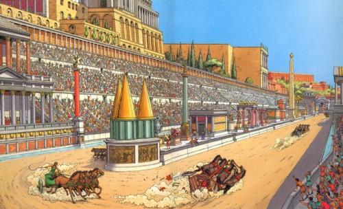 Circus Maximus Track