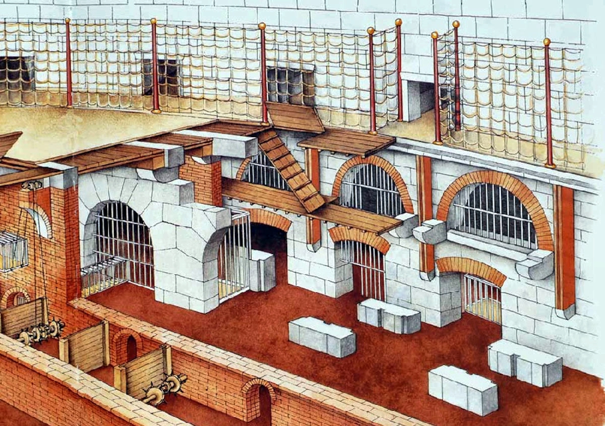Colosseum Underground Cages (8)