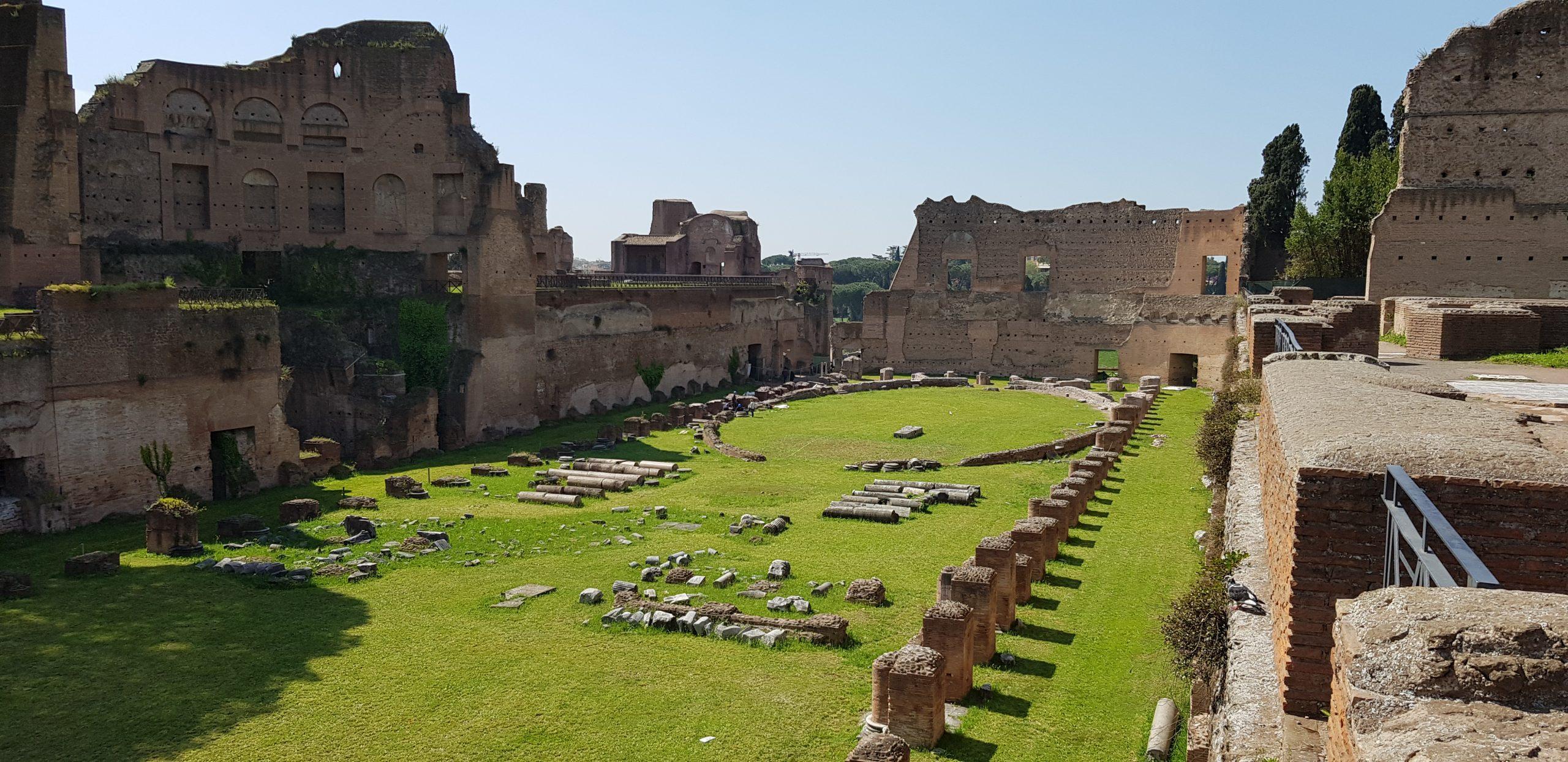 Domitians Stadium_Palatine Hill_Ancient Rome (1)