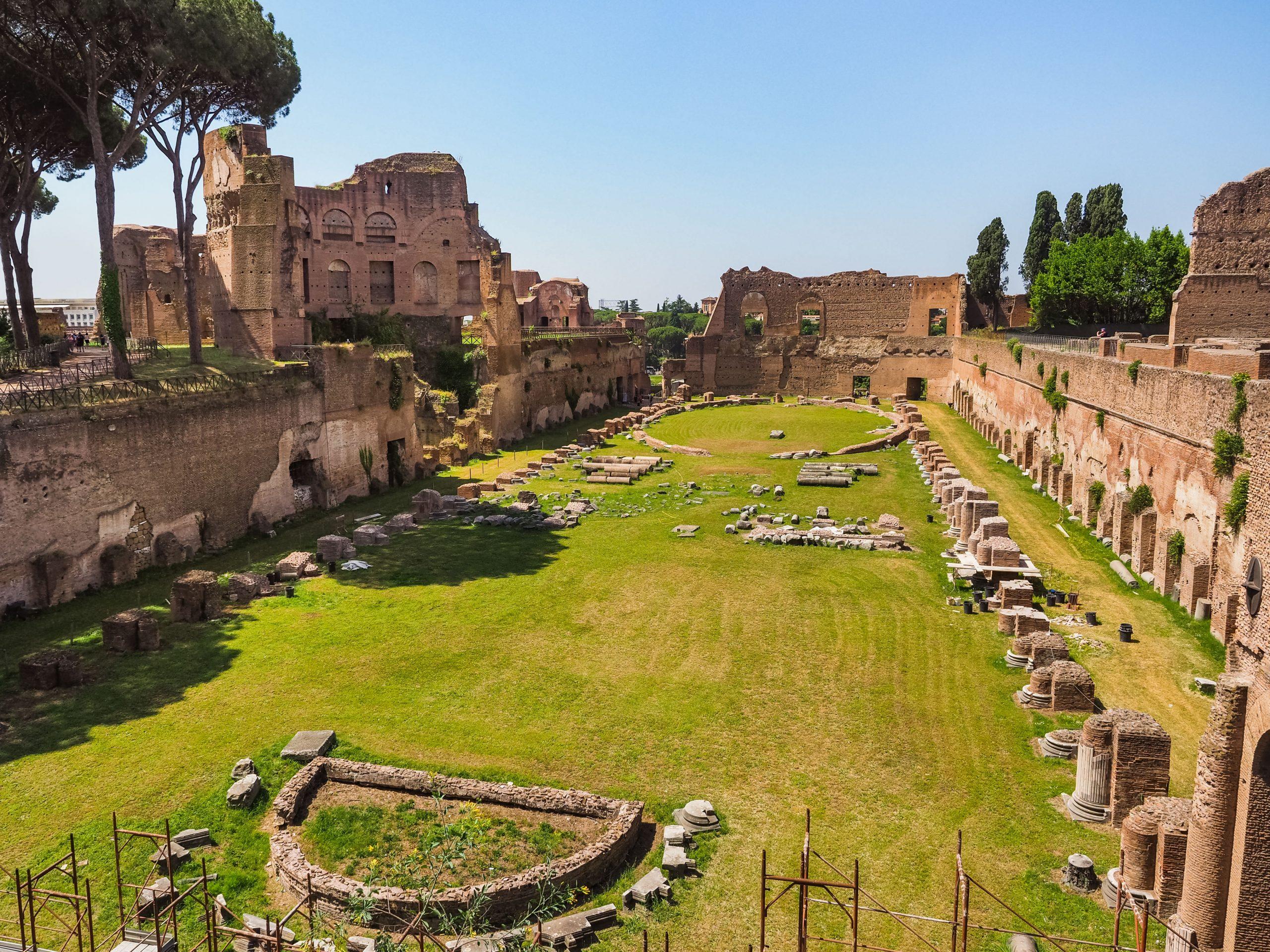 Domitians Stadium_Palatine Hill_Ancient Rome (3)