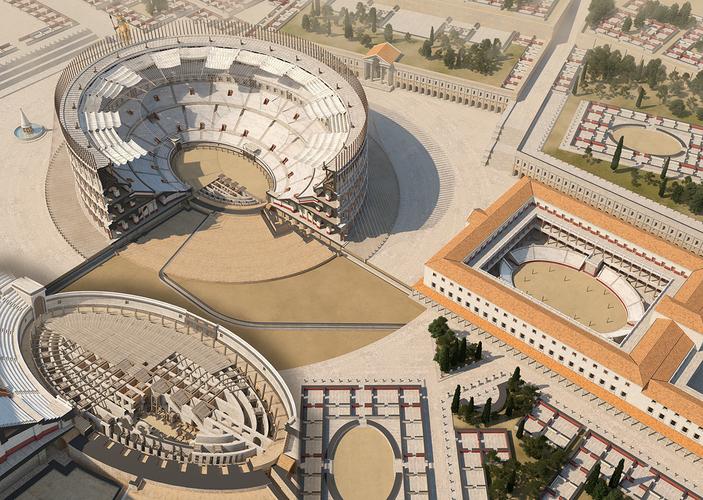 Ludus Magnus_Colosseum_Ancient Rome (2)