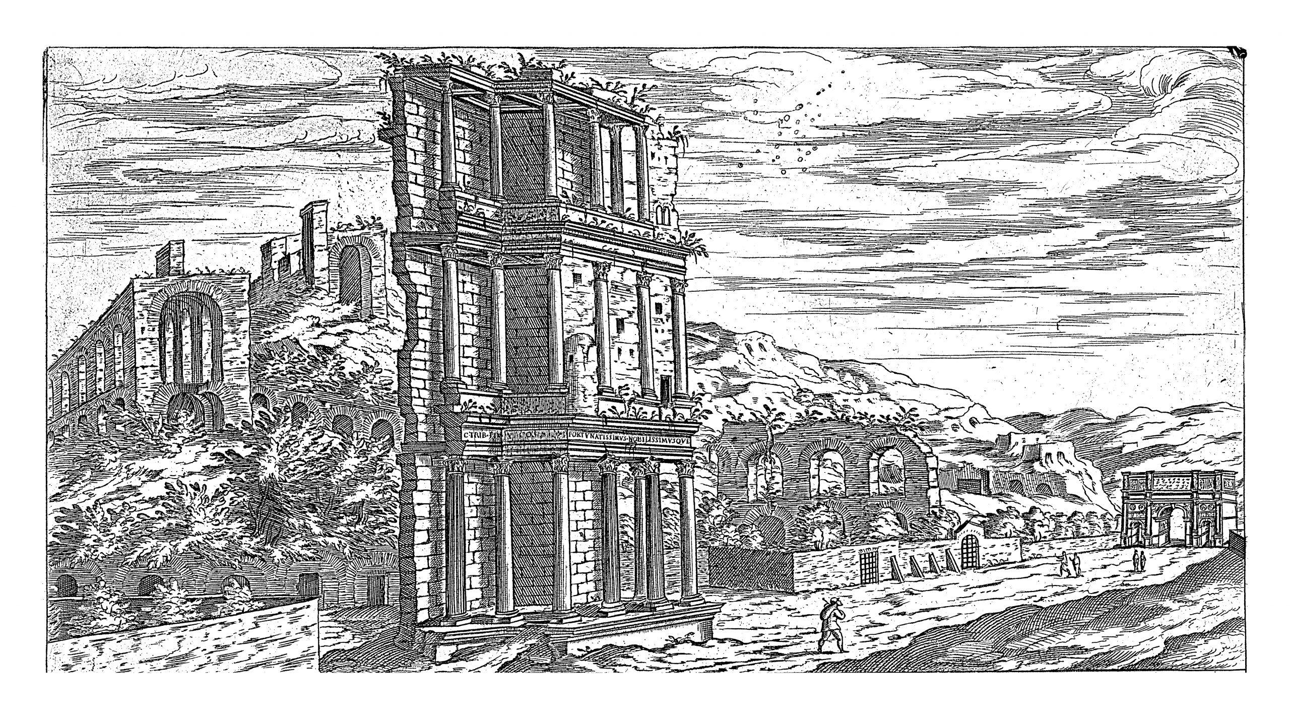 Septizodium_Ancient Rome (2)