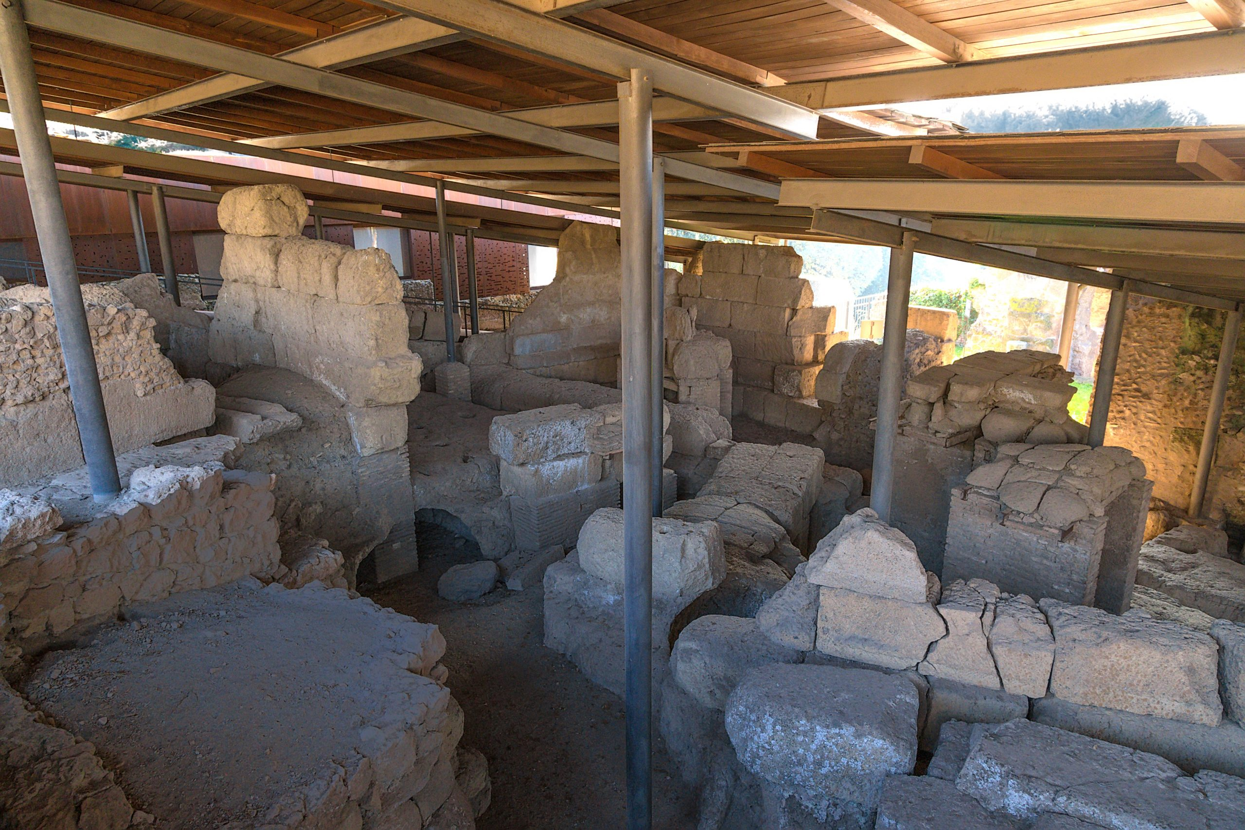 The Hut of Romulus_Palatine Hill_Ancient Rome