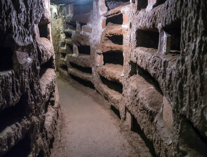 catacombs of rome_appian way_Ancient Rome (4)
