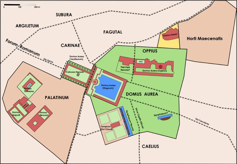Domus Aurea Colosseum